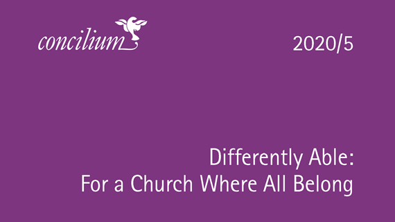2020/5: Differently Able: For a Church Where All Belong